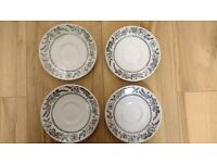 Bridgstone Ironstone Broadhurst - 4 cups, 4 saucers