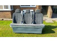 Rear seats for transit van