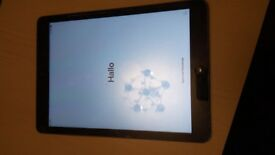 IPad Air Wi-Fi and cellular 16gb faulty