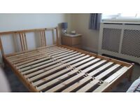 Double Bed - fab double ikea bed