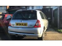 2004 RENAULT CLIO RENAULTSPORT 182 16V CHEAPEST ON THE NET GOOD CONDITION FOR AGE 172 RENAULT SPORT