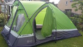 Hi Gear Gobi Elite 4 person tent. Nearly new