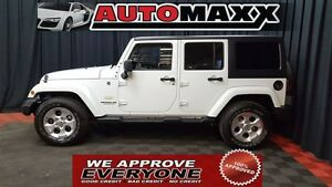 2015 Jeep WRANGLER UNLIMITED Sahara $265 Bi-Weekly! APPLY NOW DR