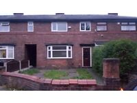 3 BEDROOM HOUSE TO LET/RENT OLDHAM COPPICE AREA DOUBLE GLAZING CENTRAL HEATING FRONT + REAR GARDEN
