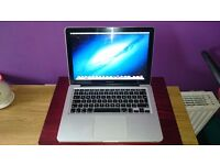"Apple Macbook pro 13"" dual-core i5 2.5GHz/4GB/500GB/HD Graphics 4000/SD"