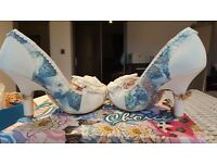 Stunning irregular choice wedding shoes. Never been worn
