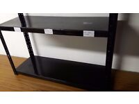 Metal shelving ideal for an office workplace even im a garage approx 1mx800 high