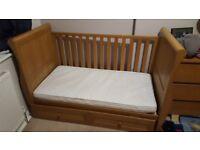 East Coast Langham Sleigh Cot Bed