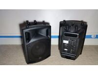 2 X QX8BT 200w Active PA Speakers