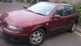 2002 Seat Leon 1.8Auto - MOT till July17