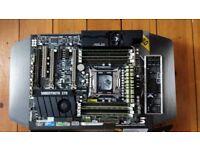 ASUS Sabertooth X79 LGA 2011 Intel X79 SATA 6Gb/s USB 3.0 ATX Motherboard C7M