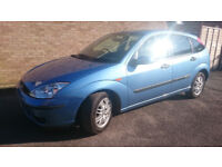 SALE FORD FOCUS 2002/Blue/1.6/Manual/Petrol/3 owners/2 keys