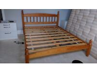 King Size Pine Double Bed - Free to a good home.