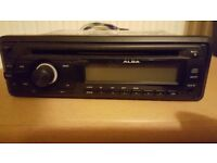 ALBA CAR CD/RADIO PLAYER