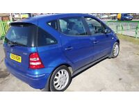 Mercedes A class 170 Diesel with full service history and long mot