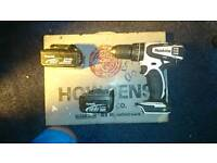Makita drill BHP456 WITH TWO BATTERIES 3.AH & 5.0AH & Howden's screw bow.