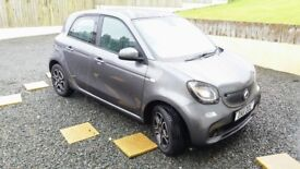 2017 SMART FORFOUR 900ccTURBO AUTOMATIC PRIME PREMIUM TOP SPEC 3000MLS