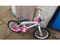 Hello kitty bike