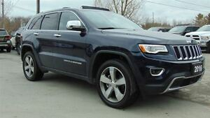 2016 Jeep Grand Cherokee LIMITED 4X4 - TOW GROUP - EXECUTIVE DEM