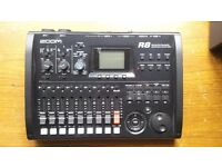 Zoom R8 multitrack recorder interface controller sampler + 2gb Sd- Perfect for Guitar and Voice rec