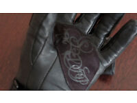 Ixon RS drop ladies leather gloves