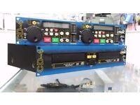 Citronic Pro Audio CD-4 Dual CD Player