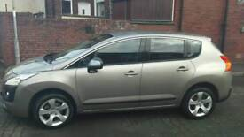 Peugeot 3008, 2012, e hdi, 1.6 diesel, automatic, 49000 miles