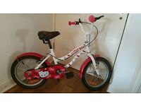 "Hello Kitty Girls Bike 16"" Wheel, Single-Speed"