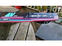 Connelly Mono Water Ski USA AV Demo with wingtail