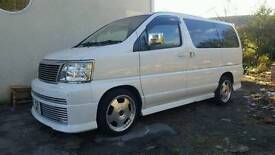 Nissan elgrand 8 seater