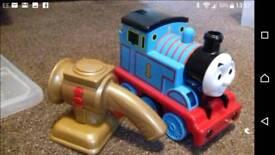 Thomas the tank engine follow me Thomas.