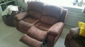 3 piece recliner sofa