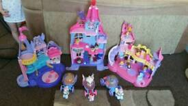 Little people's princess castle