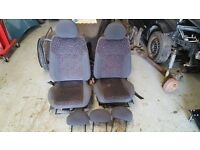 Vauxhall Corsa C / Combo Front Seats
