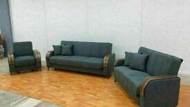 🤘🏻💓2020 BEST SALES TURKISH DESIGN FABRIC STORAGE SOFA BEDS SETTEE BLACK BROWN GREY SOFABED