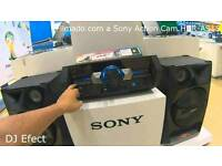 Sony shake 33 hifi 2200 wats multi colour speakers