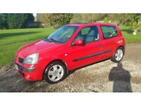 Renault Clio 1.5 dci diesel, 11 months MOT, reliable and economical
