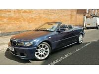 05 Reg BMW 320cd M Sport Diesel Convertible *Fully Loaded E46* Clean Car !!