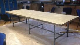 Handmade free meter table