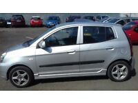 KIA PICANTO 2005 5DR FULL YEAR MOT,BLUETOOTH CONECTION, EXCELLENT CONDITION