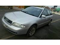 Audi a4 avant 1.8 taxed and MOT's ready to drive away