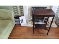 Vintage Retro Side Table Bedside Table Hall Table