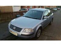 Volkswagen PASSAT 9 months mot run and drive good windscreen got chip £475