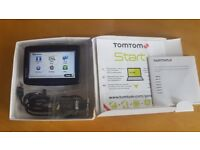 TomTom Start 20 GPS Sat Nav with Lifetime Europe maps only 2 weeks old - used once