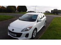 MAZDA 3 1.6 TAMURA,2013,Alloys,A/Con,Service History,Pearl White,1 Previous Owner,Spotless Condition