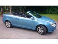 VW EOS Sport T FSI. Stunning fully electric hardtop convertible perfect for enjoying the summer