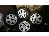 Vauxhall alloy wheels need tyres