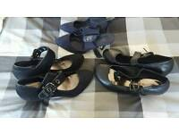 size 7 wide fit shoes