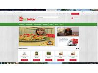 Online delicatessen business for sale
