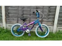"""Girls 18"""" wheel bike"""